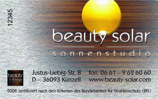 Beauty-Solar-Card
